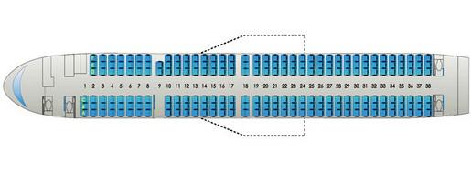 Схема салона катэкавиа